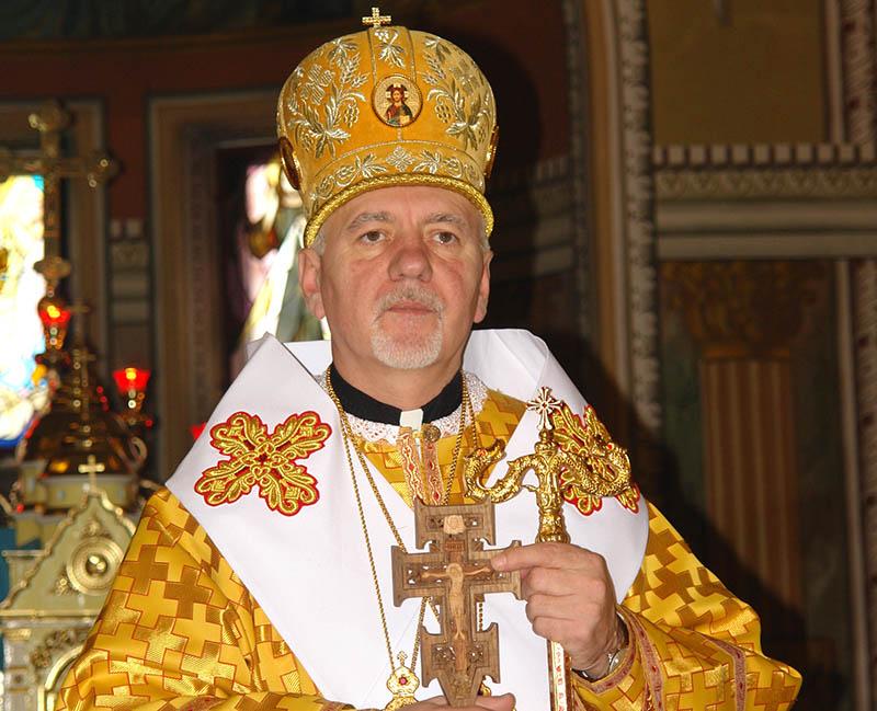 Metropolitan Volodymyr Viytyshyn Visiting Our Eparchy